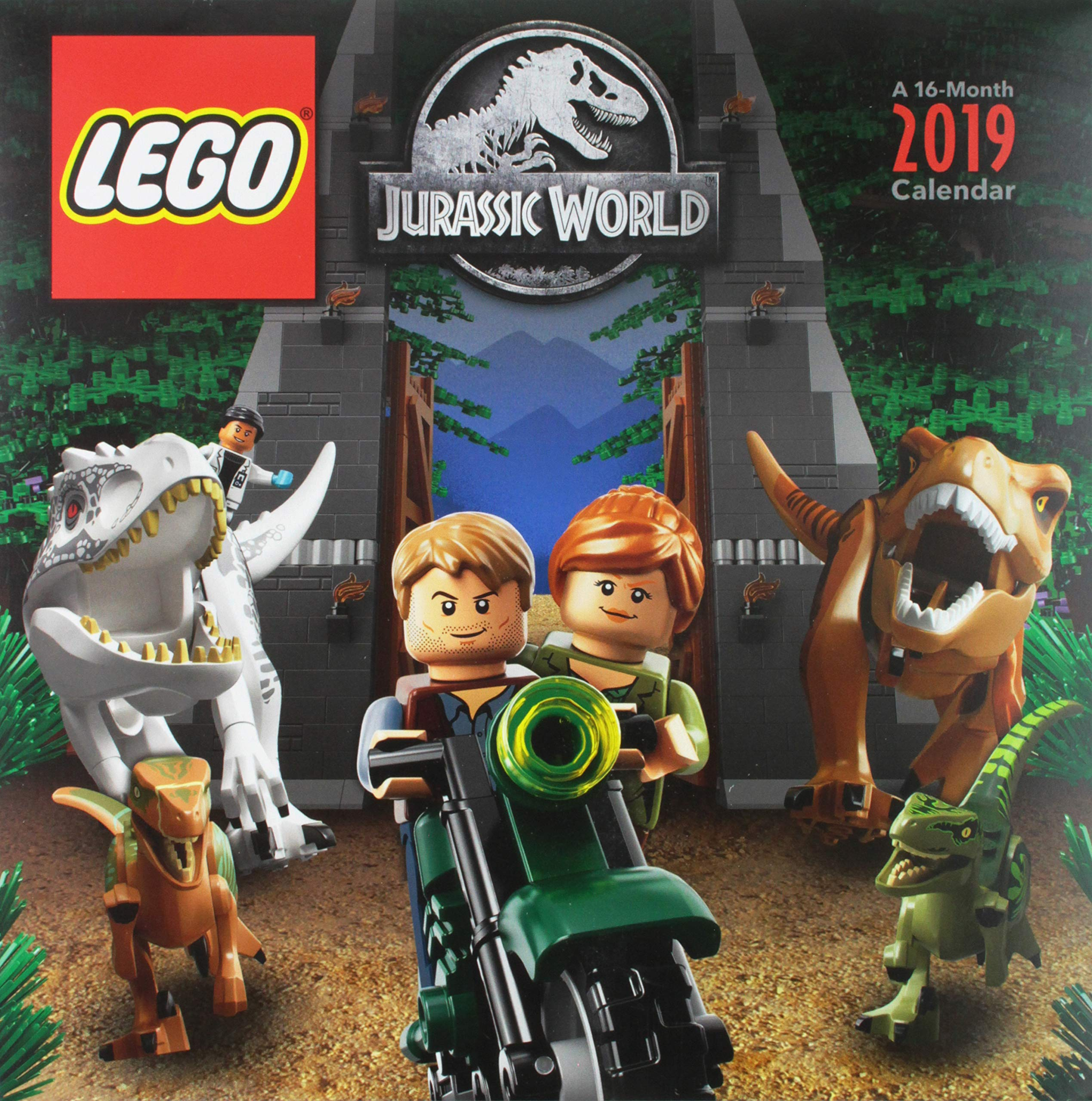 CalendarAmazon esTrends Lego Jurassic Intl Corp World 2019 UVpSzMq