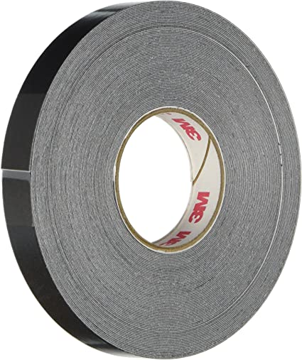 PRICE is per ROLL 3M Scotchcal 74830 Light Charcoal Metallic 3//16 in Width x 2 mil Thick Silver Metallic Striping Automotive Tape