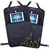ActiVue Touch | 2 x Heavy Duty Kick Mats With iPad | Tablet Holder | Car Seat Protector | Car Seat Cover