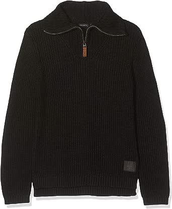 IKKS Junior Pull Camionneur Noir suéter para Niños