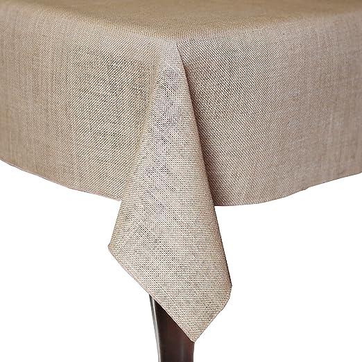 Amazon.com: Lenox Laurel Leaf 70x104 Wide Tablecloth