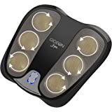 Gideon Deep Kneading Shiatsu Foot Massager with Soothing Heat – 18 Deep Penetrating 3D Massaging Nodes – Perfect for Relaxation + Natural Remedy for Plantar Fasciitis, Heal Spur and Other Foot Pains