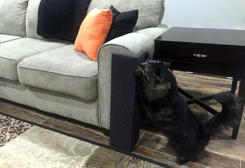 Corner shaped sofa / couch cat scratcher