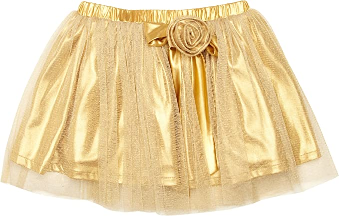 London Kiddy Sparkle Falda, Dorado, 2-3 años para Niñas: Amazon.es ...