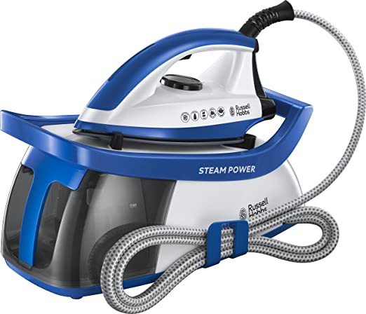 Russell Hobbs 24430 Power 95 Station Steam Generator 2600 W 1.3 Liters Blue and