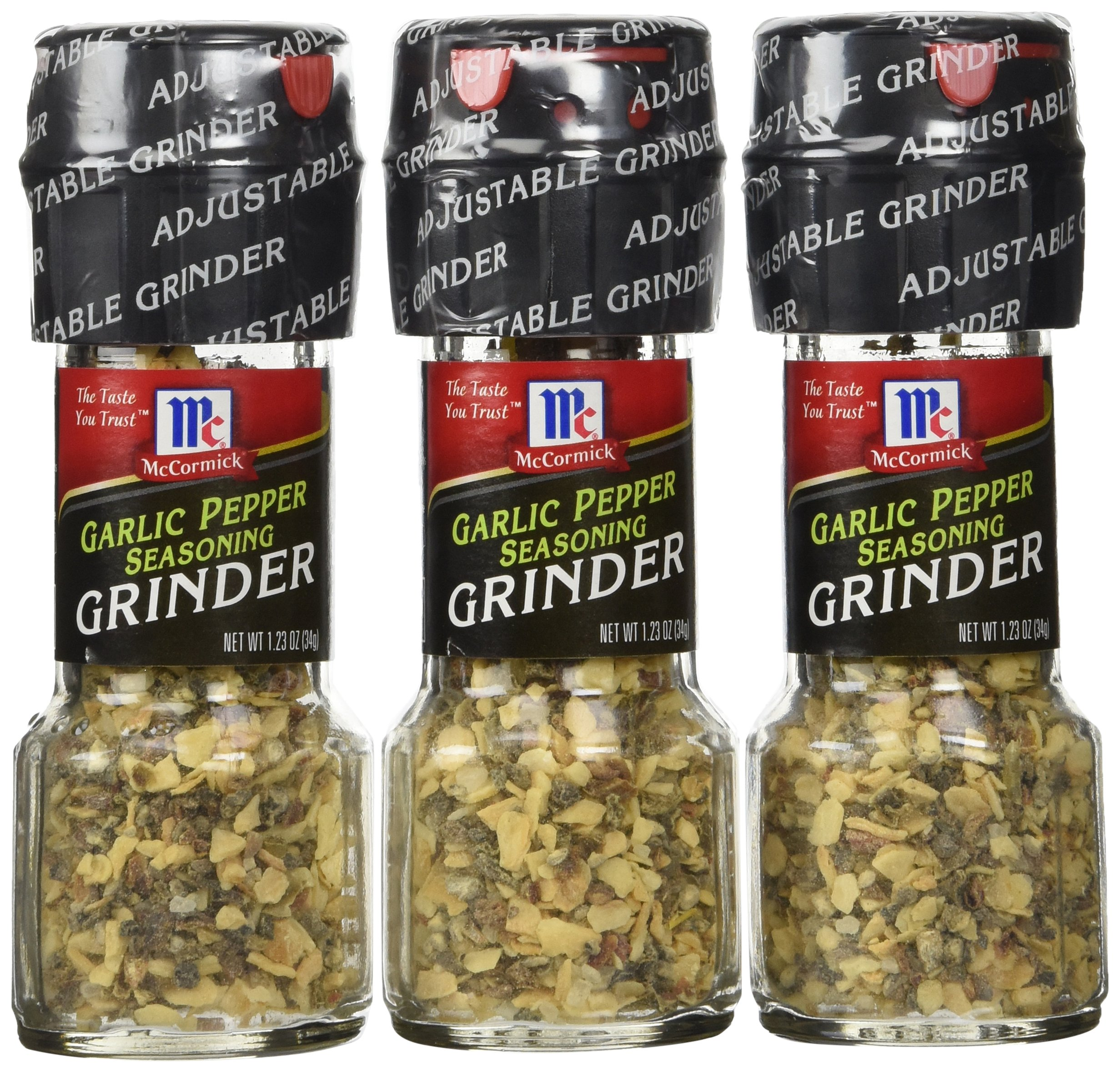 Amazon Com Mccormick S Garlic Sea Salt Grinder 1 58oz 3