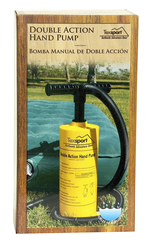 Texsport Double Action Hand Pump for Air Mattress Standard Plumbing Supply 23115