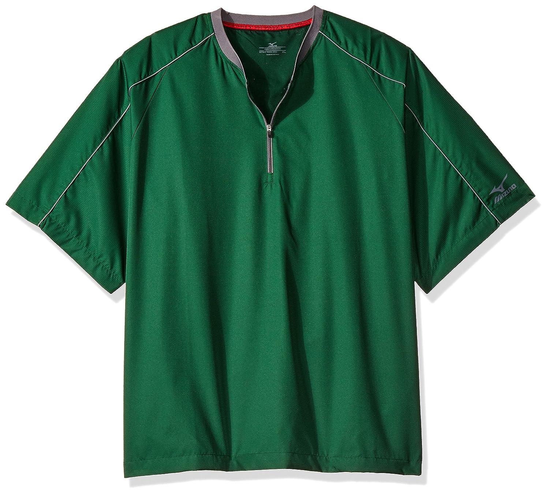 Mizuno Comp半袖中綿ジャケット B01IW6KBAC LARGE (L)|フォレスト フォレスト LARGE (L)