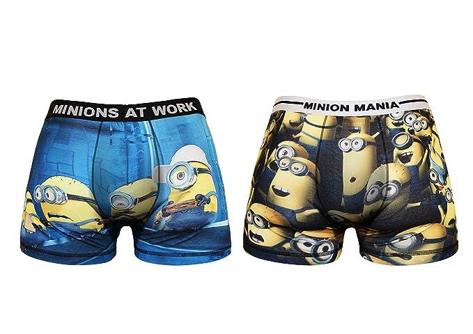 f139ee2be7f1a7 Minions - Boxer - Uomo Small: Amazon.it: Abbigliamento
