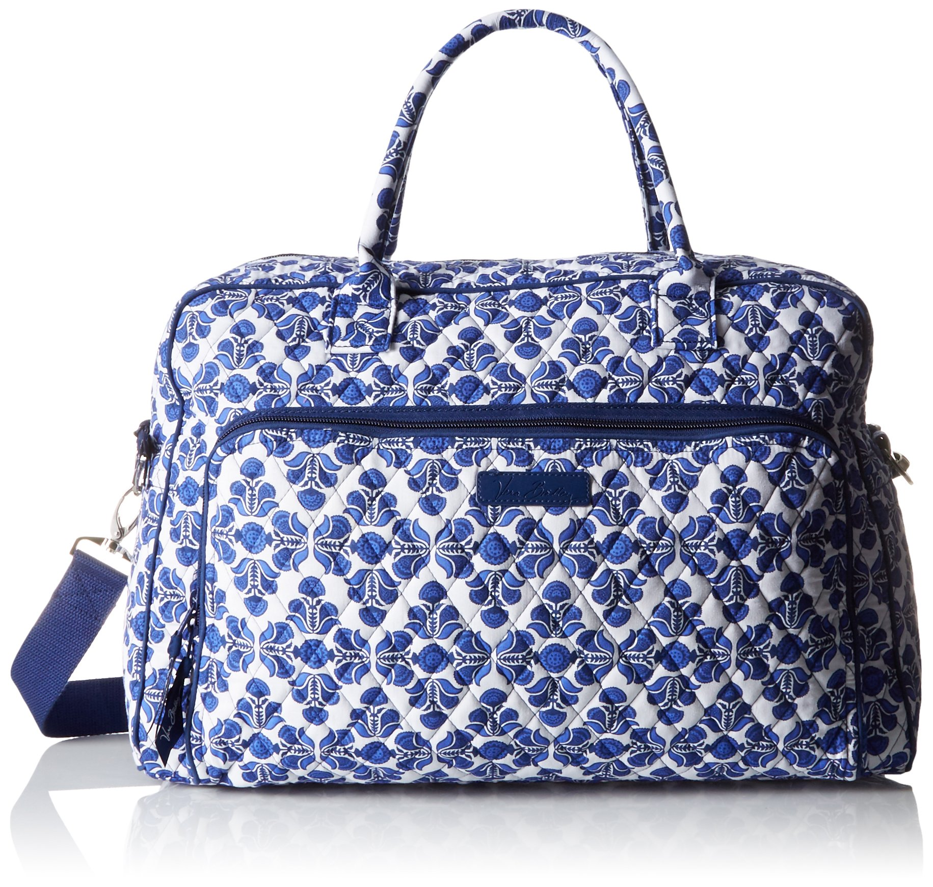 Women's Weekender, Signature Cotton, Cobalt Tile