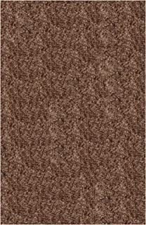 product image for Super Shag Area Rug Shaw Swag Collection Doeskin 2 Feet 6 Inches x 12 Feet.