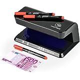 Detector Billetes Falsos UV con 3 bolígrafos detectores incluidos de MoneyTrust que sirven para detectar billetes