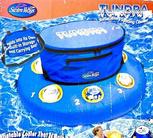 Tundra - Enfriador Flotante, Hinchable, 12 qt Capacidad para 18 ...