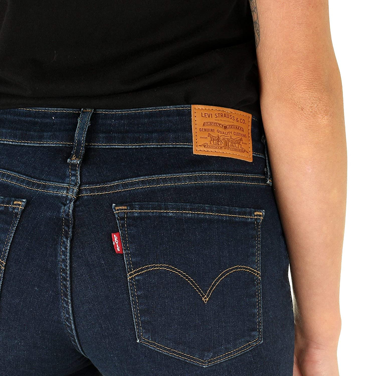 0162793ef94 Levi's Ladies 715 Bootcut Jeans - Role Model: Amazon.co.uk: Welcome