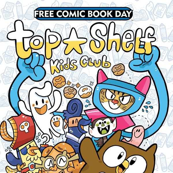 FCBD Top Shelf Kids Club (Issues) (2 Book Series)