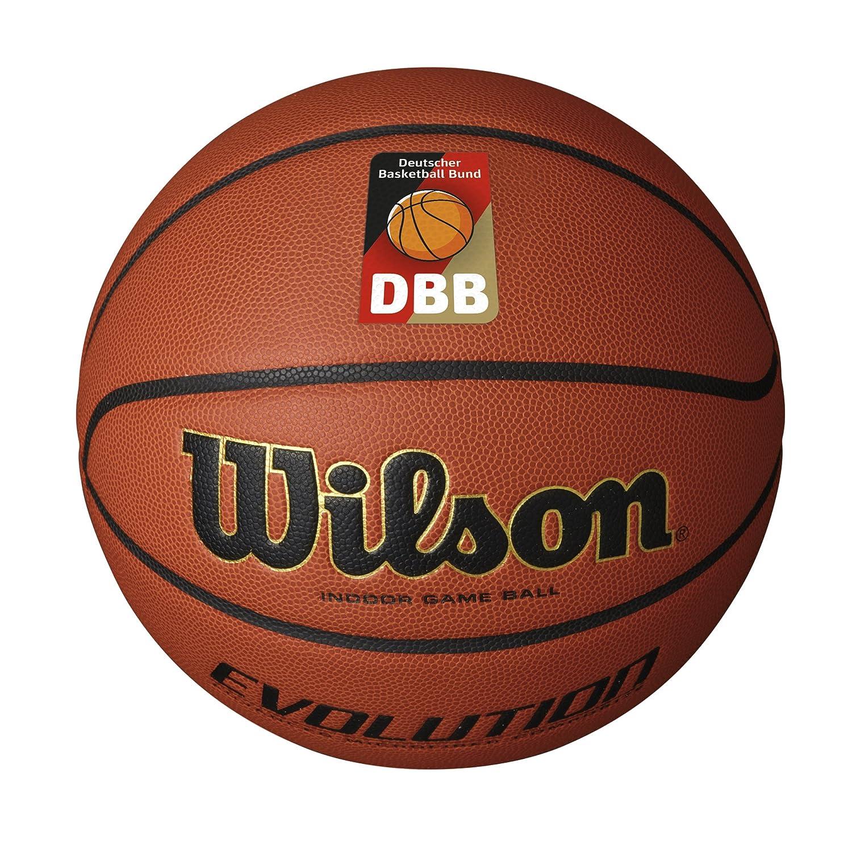 Wilson Evolution Dbb Official, Palla da Basket Uomo, Marrone, 7 WTB0516XBDBB