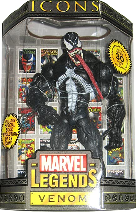 Amazon.com: Marvel leyendas iconos Series 1 Venom 12