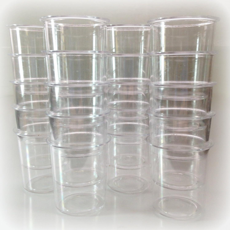 Set of 40 Plastic Votive Molds