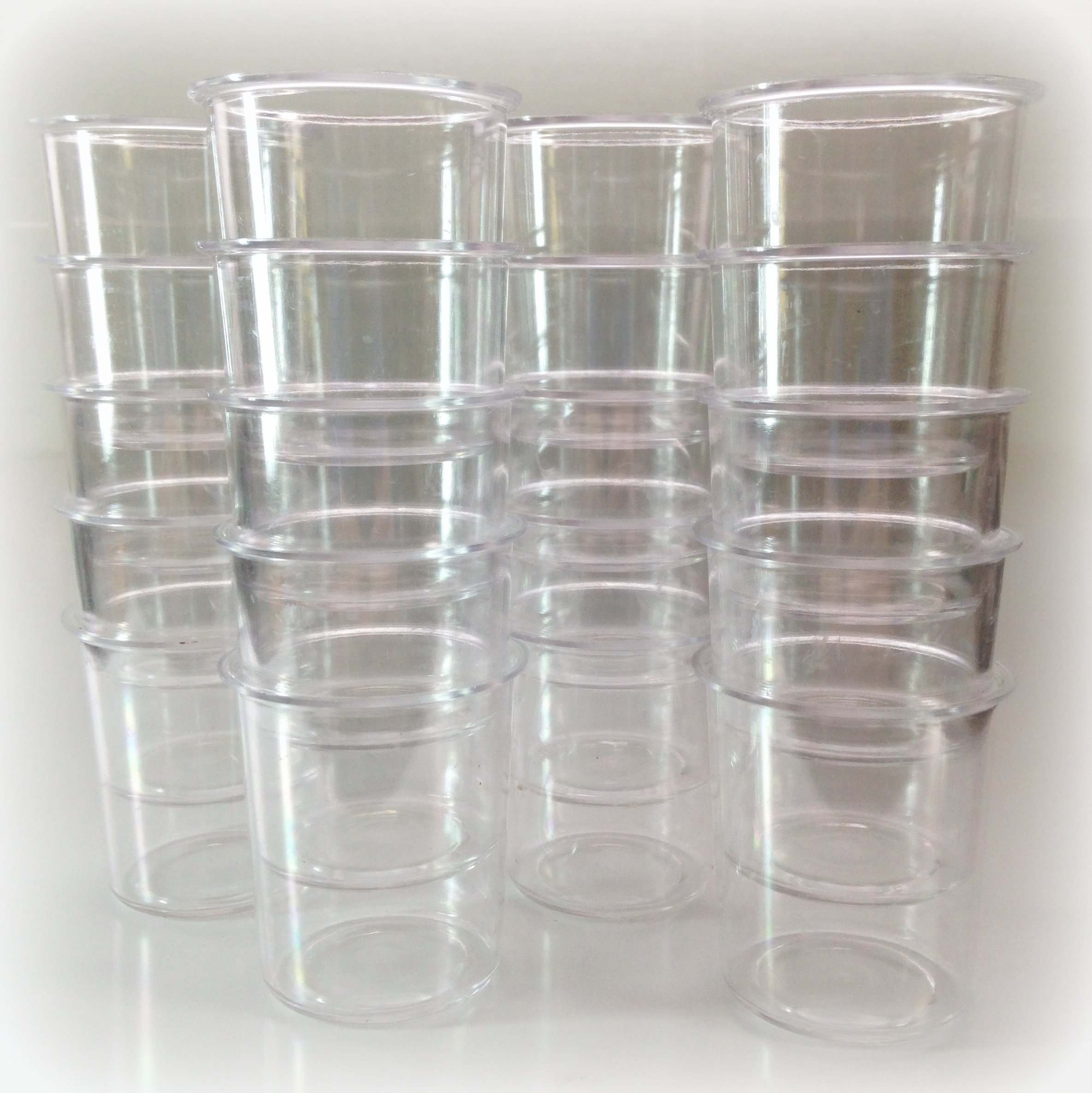 Plastic Votive Molds (Set of 40)
