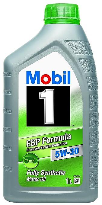 22 opinioni per Olio Motore Mobil 1 5W30 ESP Formula- 1 LT
