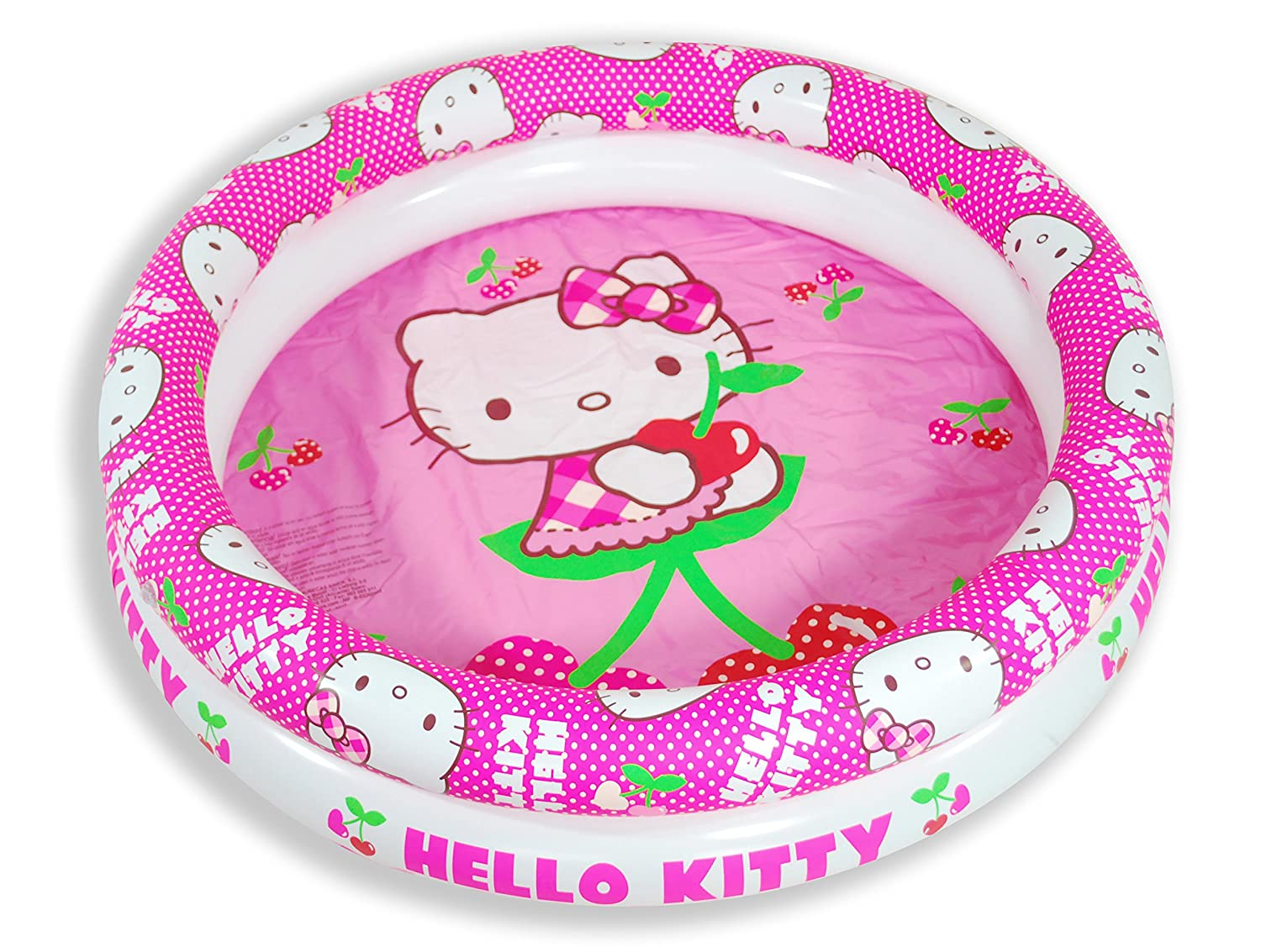 Hello Kitty - Piscina hinchable, 90 cm (Saica Toys 9317): Amazon ...