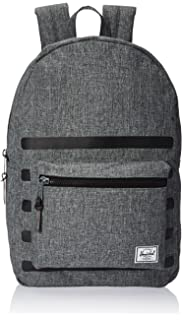 adfc12a47 Herschel Supply Co. Men's Offset Settlement Backpack, Raven Crosshatch, One  Size