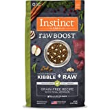 Nature's Variety Instinct Raw Boost Grain Free Recipe Natural Dry Dog Food Venison