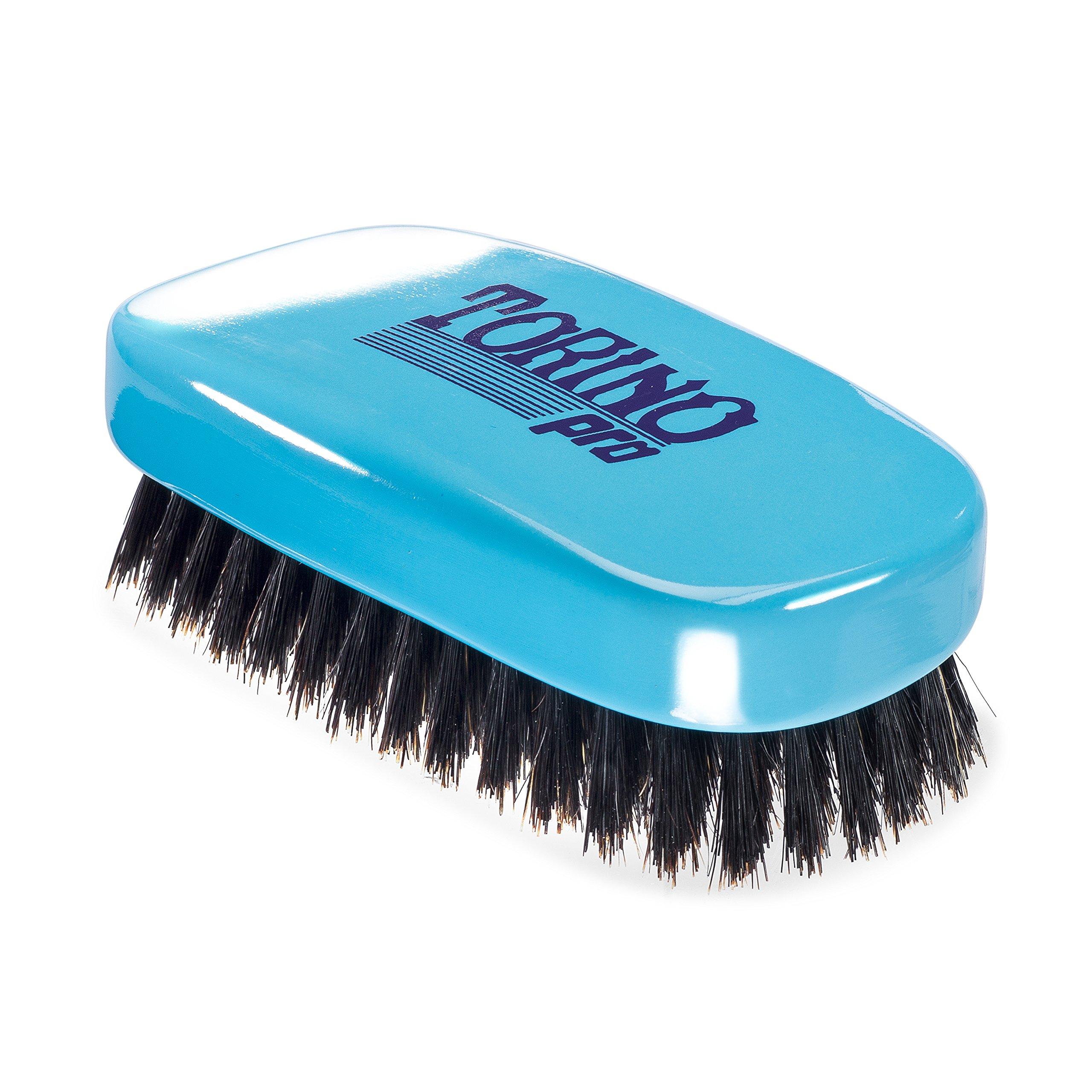 Torino Pro Wave Brush #820 By Brush King - 11 Row Medium 360 Waves Palm Brush
