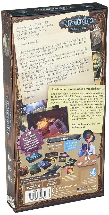 Amazon.com: Mysterium:Secretos y mentiras, la expansión ...