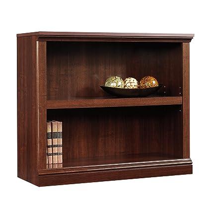 High Quality Sauder 2 Shelf Bookcase, Select Cherry Finish
