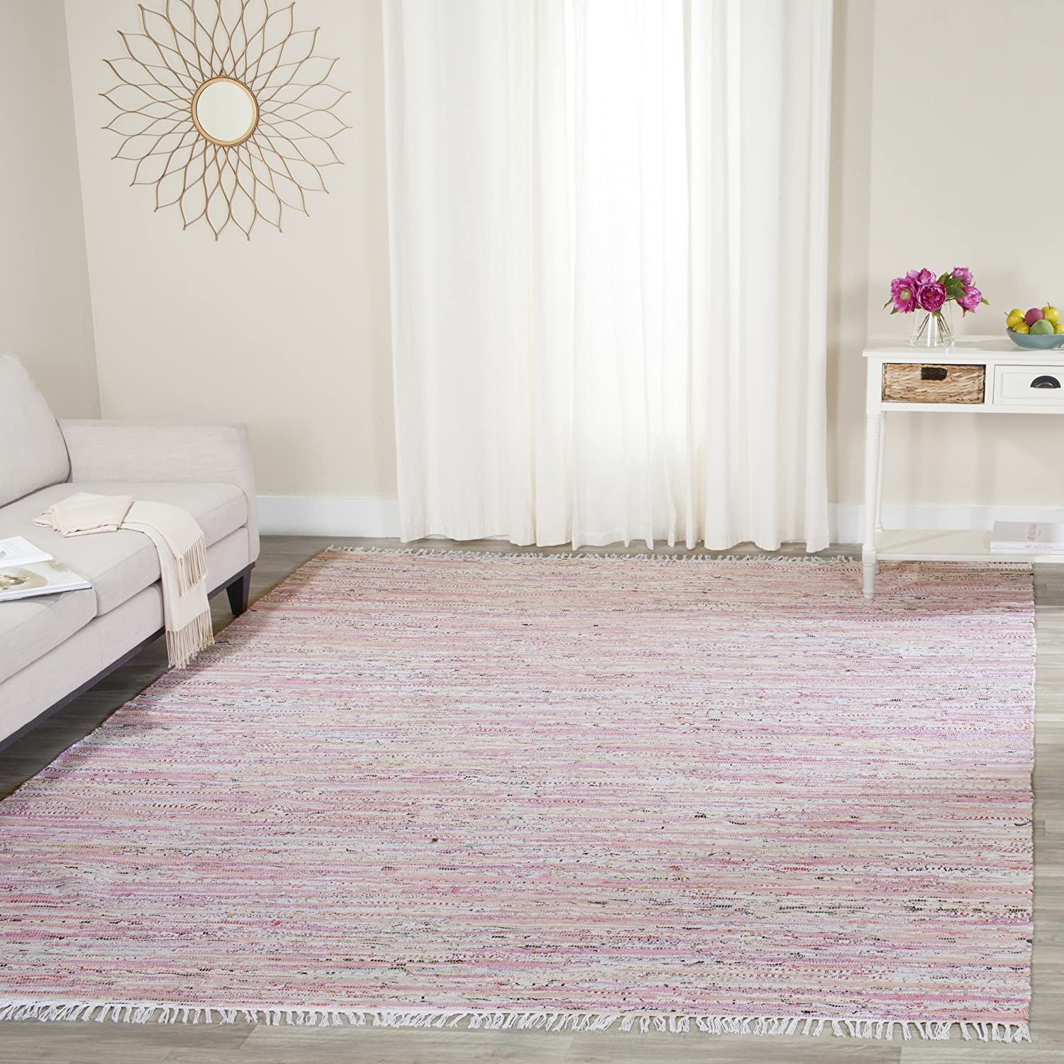 Pink Area Rug.Alameda Hot Pink 5 Ft X 8 Ft Indoor Area Rug. Pink ...