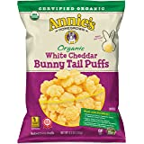 Annie's Organic White Cheddar Bunny Tail Baked Corn Puffs, 4.3 oz