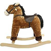 Comdaq Brown Rocking Horse, Brown