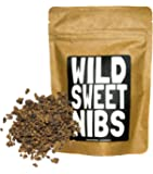 Wild Sweet Nibs, Organic Cacao Nibs Lightly Sweetened, Single-Origin, Gluten-Free, non-GMO Chocolate Superfood (4 ounce)