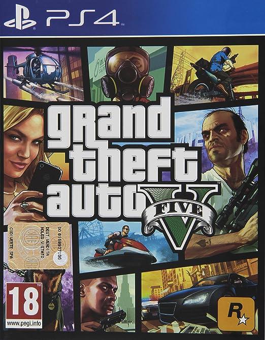 555 opinioni per Grand Theft Auto V (GTA V)- PlayStation 4