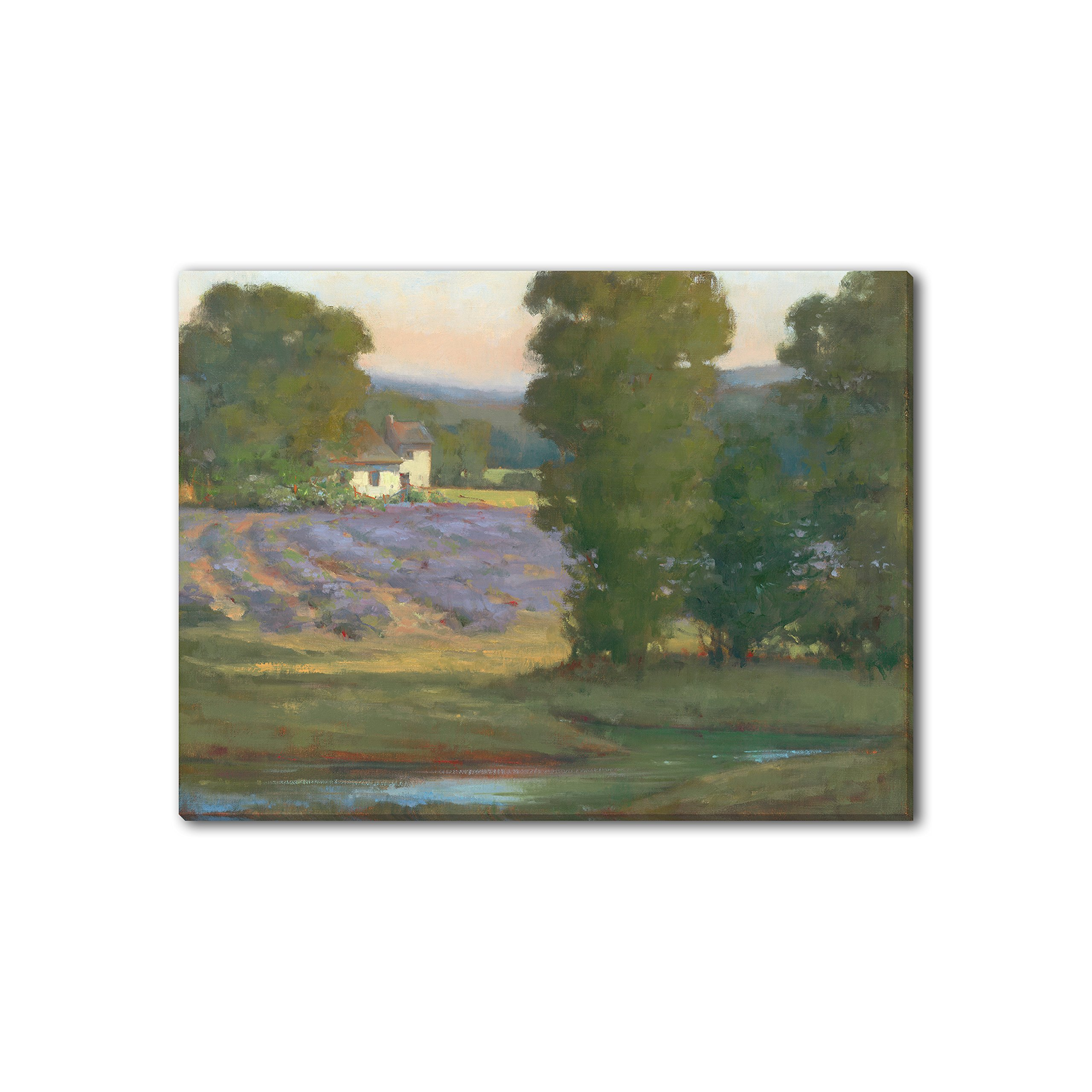 Gallery Direct 'Country Home' Canvas Gallery Wrap by Kim Coulter, 48 by 36-Inch