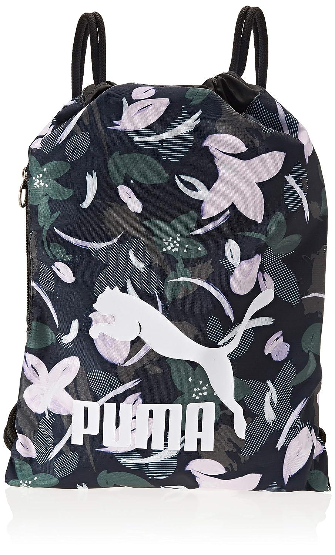 Puma 74812, Sports Bag Unisex – Adulto, Black-Gold, OSFA Sports Bag Unisex - Adulto