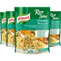 4-Pack Knorr Rice Sides Dish, Cheddar Broccoli