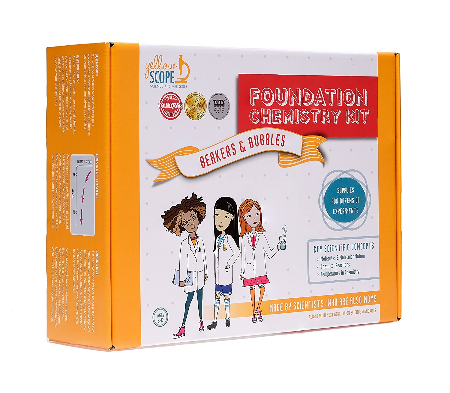 Amazon Yellow Scope Foundation Chemistry Kit Amazon Launchpad
