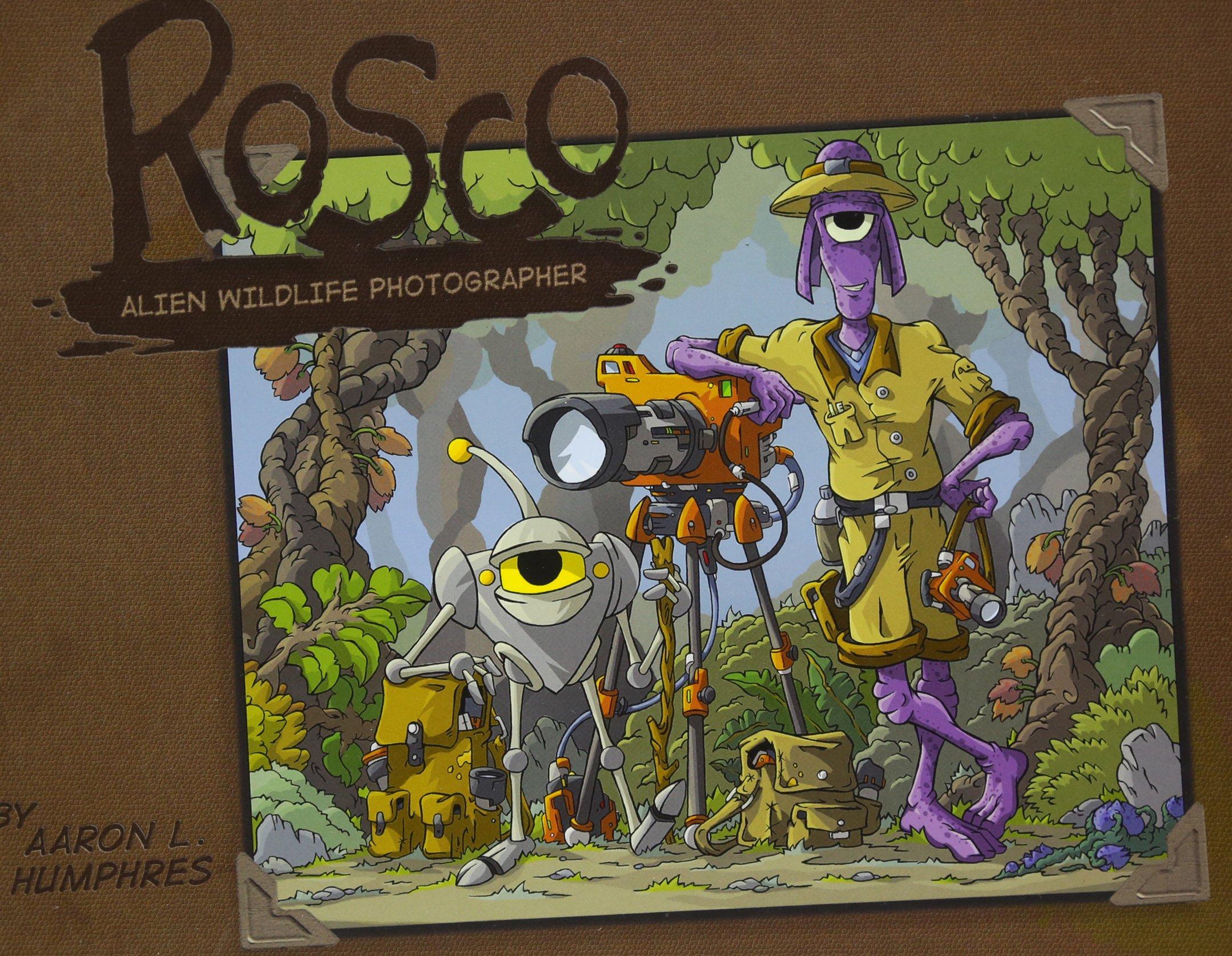 Read Online Rosco Alien Wildlife Photographer pdf