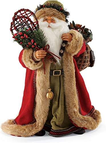 Department 56 Signature Collection Woodland Santa, 14 inch