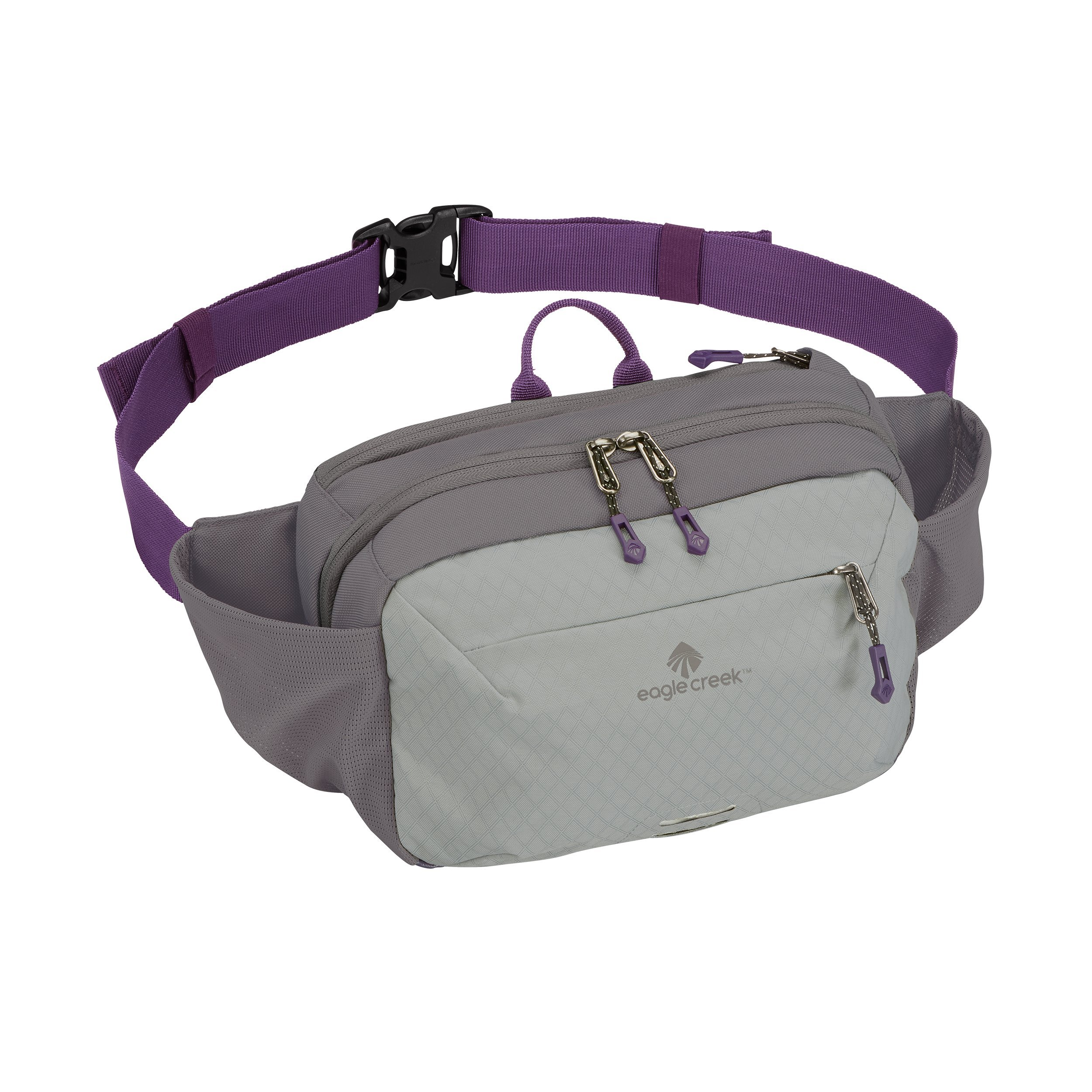 Eagle Creek Multiuse Fanny Travel Sport Waist Pack for Tablet and Phone, Graphite/Amethyst