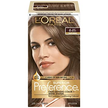 Buy L\'Oreal Preference Hair Color - Light Brown Online at Low ...