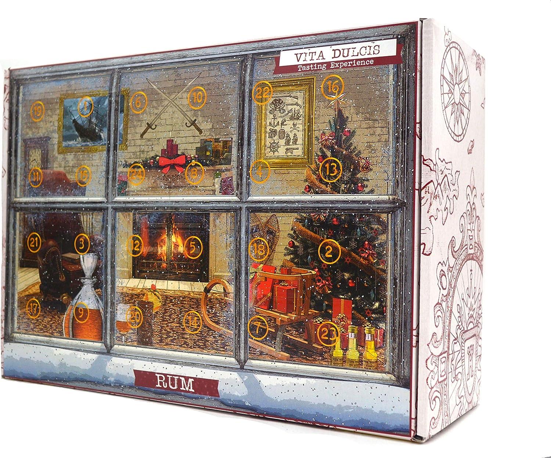 Vita Dulcis Rum Calendario de adviento Premium Edición 2-24x0.02l - limitado