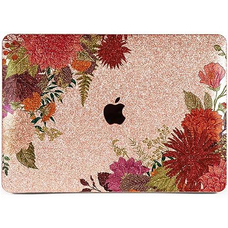 top fashion 39dbe 7e504 Amazon.com: Lex Altern Glitter MacBook Air Case 13 inch Pro 15 12 11 ...