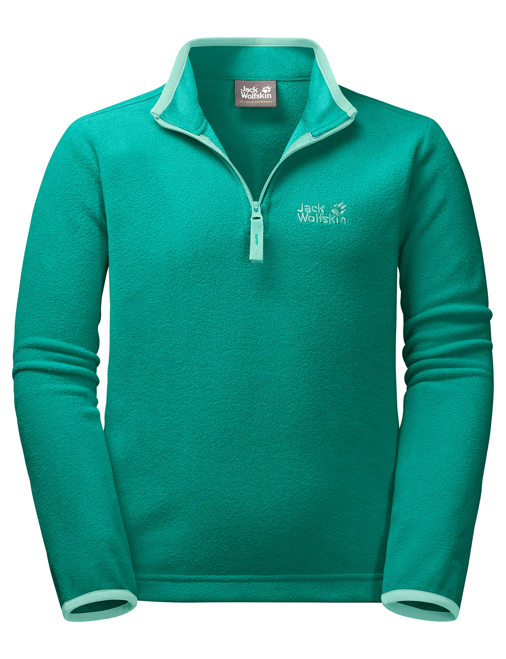 Jack Wolfskin Wolf Pullover, 176 (14 Years & Older), Deep Mint by Jack Wolfskin