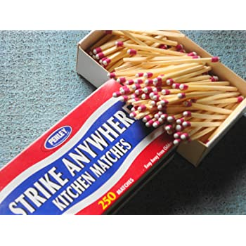 Amazon Com 6 Boxes Of Penley Strike Anywhere Matches 250