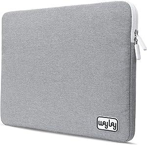 Waylay Laptop Case For Women & Men - Bag For Laptop With 5G Protection Radiation Blocker & Heat Shielding Laptop Sleeve - 2-in-1 MacBook Case & Laptop Pad Ocean Blue/Slate Gray - Fabric PC Laptop Case