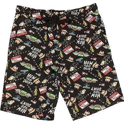 Bioworld Friends 25th Anniversary Sleep Short Pajamas for Men at Men's Clothing store
