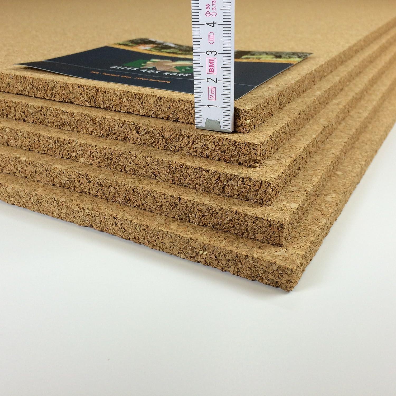 EKB-Presskorkplatte 100x50cm 10mm Stark 0,5qm Korkplatte
